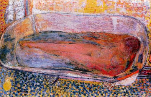 Bonnard Pierre, La grande baignoire, 1937-1939, huile sur toile, 94 x 144 cm, collection particulière