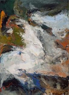 Jan Wroblewski, Accomplissement, 2008, huile sur toile, 33 x 24 cm