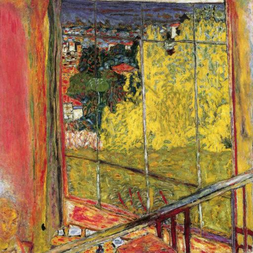 Bonnard Pierre, L'atelier au mimosa, 1939-1946, huile sur toile, 127,5 x 127,5 cm, Centre national d'art moderne, Paris