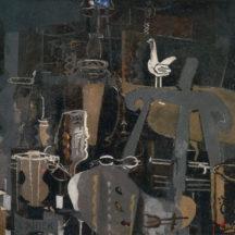 Braque George, Atelier VI, 1950-1951, huile sur toile, 130 x 162,5 cm, Fondation Maeght, Saint-Paul de Vence