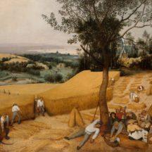 Bruegel Pieter, La moisson, 1565, huile sur bois, 119 × 162 cm, Metropolitan Museum of Art, New-York