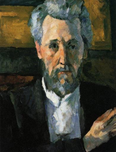 Cézanne Paul, Portrait de Victor Chocquet, 1877, huile sur toile, 35 x 27 cm, Virginia Museum of Fine Arts, Richmond