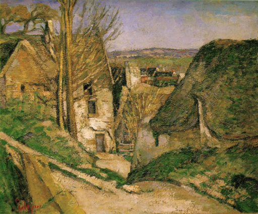 Cézanne Paul, La maison du pendu, 1873, huile sur toile, 55 x 66 cm, Musée d'Orsay, Paris