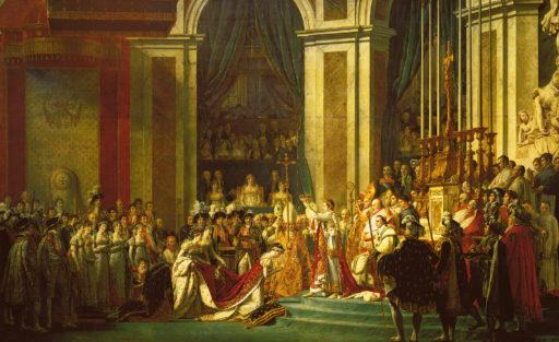 David Jacques-Louis, Le Sacre de Napoléon, 1806-1807, huile sur toile, 620 x 980 cm, musée du Louvre, Paris
