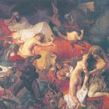 Eugène Delacroix, La mort de Sardanapale, 1827, huile sur toile, 392 × 496 cm, musée du Louvre, Paris