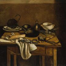 Derain André, La Table de cuisine, 1922-1925, huile sur toile, 119 x 119 cm, musée de l'Orangerie, Paris