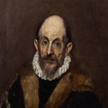 le Greco, Portrait d'un homme, 1590-1600, huile sur toile, 52,7 × 46,7 cm, Metropolitan Museum of Art, New York