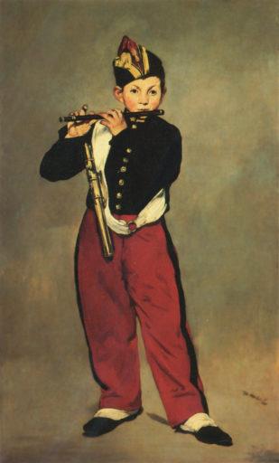 Manet Édouard, Le fifre, 1866, huile sur toile, 160 x 98 cm, musée d'Orsay, Paris