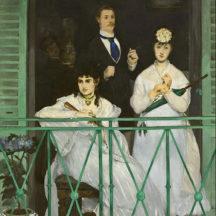 Manet Edouard, Le Balcon, 1868-69, huile sur toile, 170 × 124 cm, Musée d'Orsay, Paris