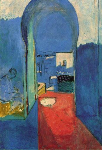 Henri Matisse, La porte de la casbah, huile sur toile, 116 x 80 cm, Musée Pouchkine, Moscou