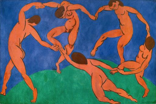 Matisse Henri, La danse, 1909-1010, huile sur toile, 260 × 391 cm, musée de l'Ermitage, Saint-Pétersbourg