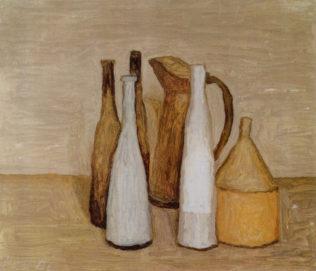 Morandi Giorgio, Nature morte, 1951, huile sur toile, 39 x 45 cm, Museo Morandi, Bologne