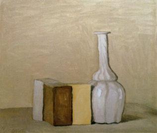 Morandi Giorgio, Nature morte, 1954, huile sur toile, 30 x 35 cm, collection particulière, Florence