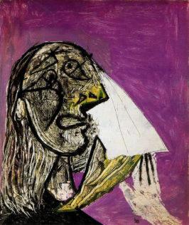 Picasso Pablo, La Femme qui pleure, 18 octobre 1937, huile sur toile, 55,3 x 46,3 cm, Musée Picasso, Paris