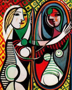 Picasso Pablo, Jeune fille devant un miroir, 1932, huile sur toile, 162 × 130 cm, MoMA, New York