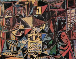 Pablo Picasso, Las meninas, 18 septembre 1957, huile sur toile, Musée Pablo Picasso, Barcelone