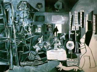 Pablo Picasso, Las meninas, huile sur toile, Musée Pablo Picasso, Barcelon