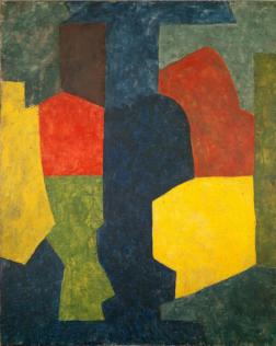 Poliakoff Serge, Composition abstraite, 1969, huile sur toile, 162,5 x 132 cm, collection particulière