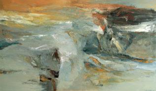 Jan Wroblewski, Pressentiment, 2006, huile sur toile, 114 x 195 cm