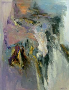 Jan Wroblewski, Racines, 2007, huile sur toile, 146 x 114cm