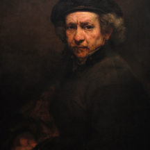 Rembrandt, autoportrait, 1657-1659, huile sur toile, 53 x 43 cm, National Gallery of Scotland, Edinburgh