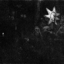 Rembrandt, L'étoile des rois, vers 1651, gravure, Haarlem