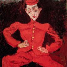 Soutine Chaïm, Le groom, 1928, huile sur toile, 98 x 80,5 cm, Musée national d'art moderne, Paris