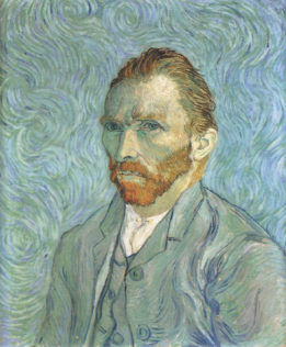 Van Gogh Vincent, Portrait de l'artiste, 1889, huile sur toile, 65 x 54,2 cm, Musée d'Orsay, Paris