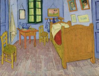 Van Gogh Vincent, La chambre de Van Gogh a Arles, huile sur toile, 1889, 74 x 57 cm, Musée d'Orsay, Paris