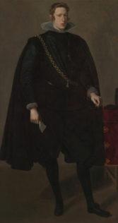 Velázquez, Diego Rodríguez de Silva y Velázquez, Philip IV, 1624, huile sur toile, 200 x 102,9 cm, National Gallery of Art, Washington