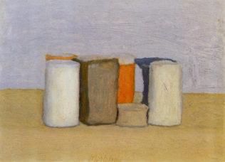 Morandi Giorgio, Nature morte, 1961, huile sur toile, 25,3 x 35,3 cm, collection particulière, Bologne