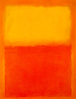 Rothko Mark, Orange and Yellow, 1956, huile sur toile, 231 × 180 cm, Albright-Knox Art Gallery, Buffalo