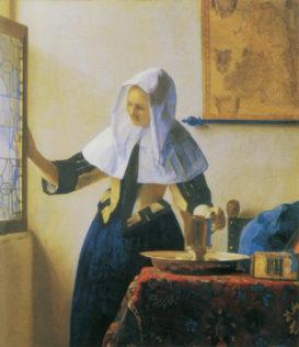 Vermeer Johannes, La femme à la fenêtre, vers 1664, huile sur toile, 45,7 x 40,6 cm, The Metropolitan Museum of Art, New York