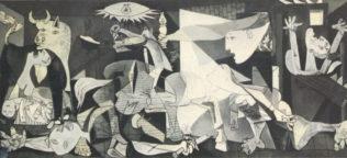 Picasso Pablo, Guernica, 1937, huile sur toile, 349,3 × 776,6 cm, Musée Reina Sofía1, Madrid