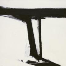 Kline Franz, Le Gros, 1961, huile sur toile, 105 x 133,8 cm, MoMA, New York