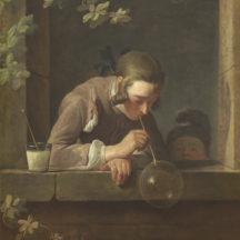 Chardin Jean Siméon, La bulle de savon, 1733-1734, huile sur toile, 93 x 74,6 cm, National Gallery of Art, Washington