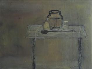 Zingaro Astolfo, 1984, huile sur toile, 81 x 100 cm