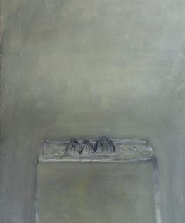 Zingaro Astolfo, 1990, huile sur toile, 130 x 97 cm