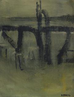 Zingaro Astolfo, 2008, huile sur toile, 117 x 89 cm