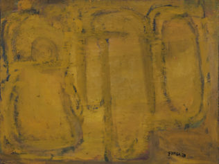 Zingaro Astolfo, 2009, huile sur toile, 73 x 92 cm