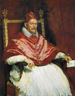 Velázquez Diego, Portrait d'Innocent X, 1650, huile sur toile, 140 × 120 cm, Galerie Doria-Pamphilj, Rome