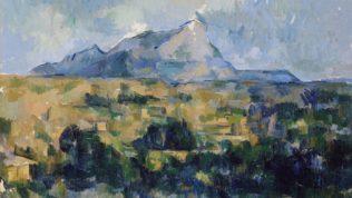 Cézanne Paul, La montagne Sainte-Victoire vue des Lauves, 1902-1906, huile sur toile, 65 x 81 cm, collection privée
