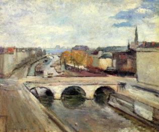 Matisse Henri, Le pont Saint Michel, 1900, huile sur toile, 73 x 60 cm, collection privée