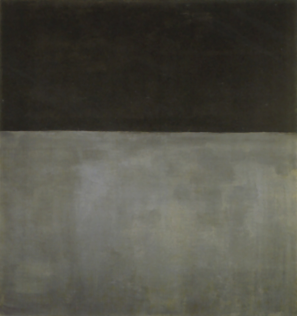 Rothko Mark, Untituled (Black on Gray), 1969, Acrylique sur toile, 206,7 x 193 cm, National Gallery of Art, Washington
