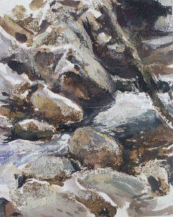 Guillaume Beaugé, étude de paysage