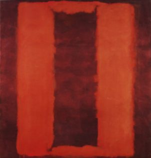 Rothko Mark, Untitled (Seagram Mural Sketch), 1958, Technique mixte sur toile, 266,1 x 252,4 cm, Tate Modern, Londres