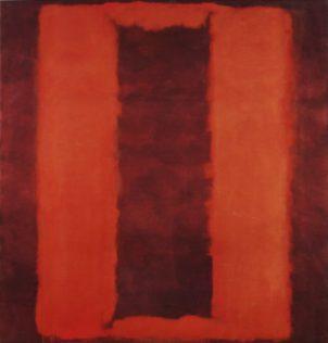 Rothko Mark, Untitled (Seagram Mural Sketch), 1958, Technique mixte sur toile, 266,1 x 252,4 cm, Tate Modern, Londres