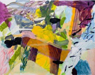 Jean-Marc Trimouille, De Bon Matin, acrylique, 92 x 73 cm, 2019