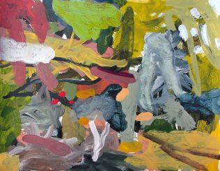 Jean-Marc Trimouille, Sans titre, acrylique, 65 x 50 cm, 2018