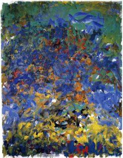 Mitchell Joan, La Grande Vallée, 1983, huile sur toile, collection particulière